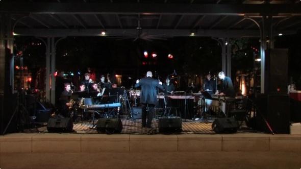 "Musiqa performance of ""Dance Mix"", November 8, 2013 - Market Square, Downtown Houston, TX."